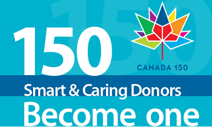 Canada's 150th $1.5 Million Smart & Caring Community Appeal
