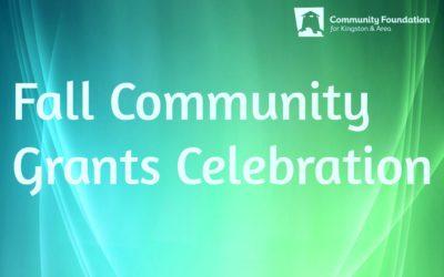 Community Grants Celebration Fall 2019