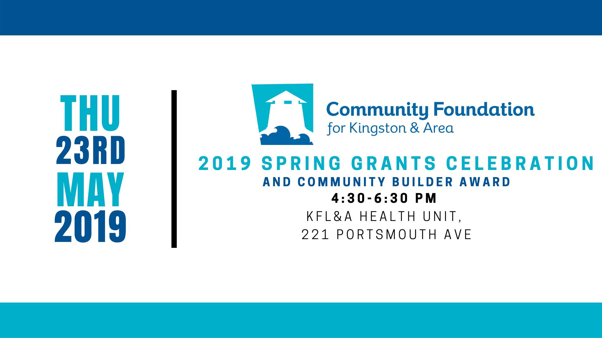 Community Grants Celebration & Community Builder Award