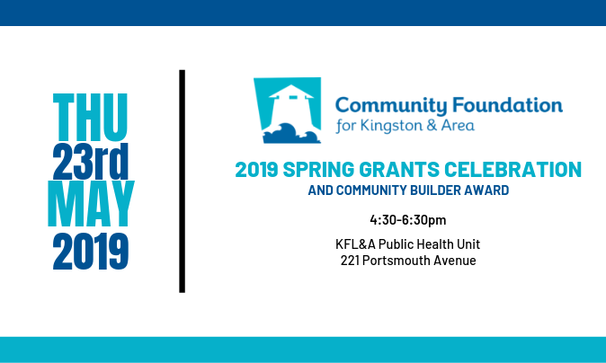 Spring Community Grants Celebration and Community Builder Award