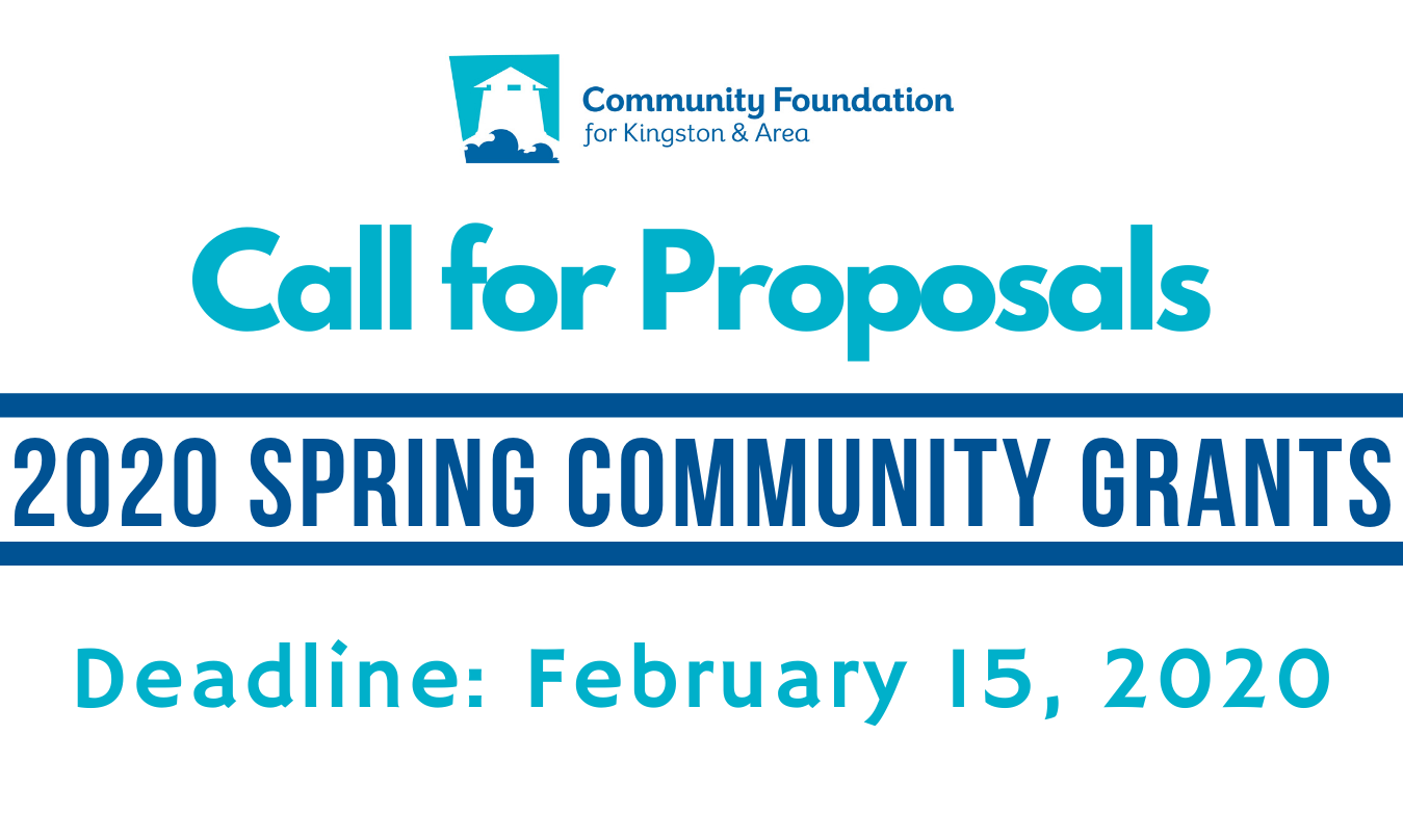 Spring 2020 Community Grants Program