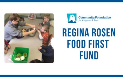 Regina Rosen Food First Fund