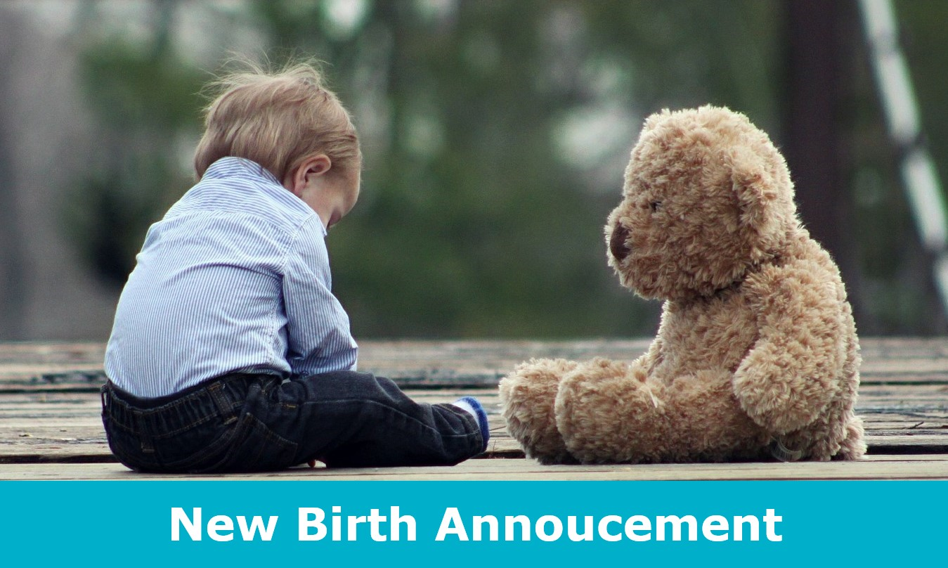 New Birth Annoucement