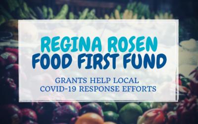 Regina Rosen Food First Fund Grants 2021