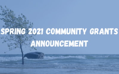 Spring 2021 Community Grants Announcement