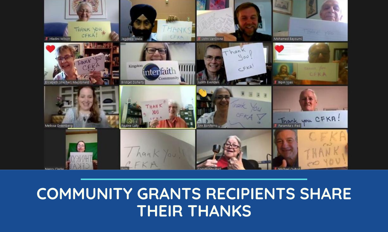 Community Grants Recipients Share Their Thanks