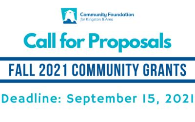 Fall 2021 Community Grants