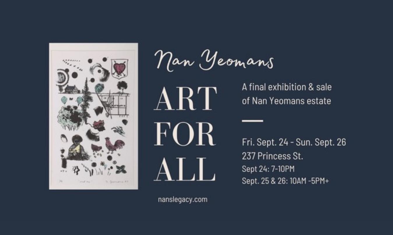 Nan Yeomans 'Art For All'